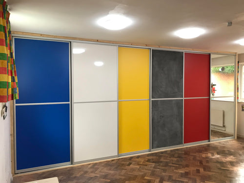 Creative Sliding Doors for Nursery School