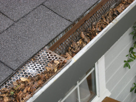 Clear out your guttering to prepare your roof for the winter weather