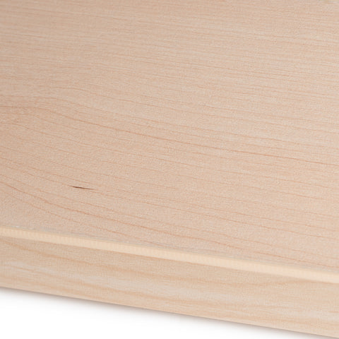 Maple melamine sample