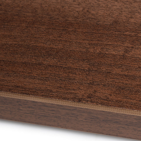 Walnut melamine sample - Contract