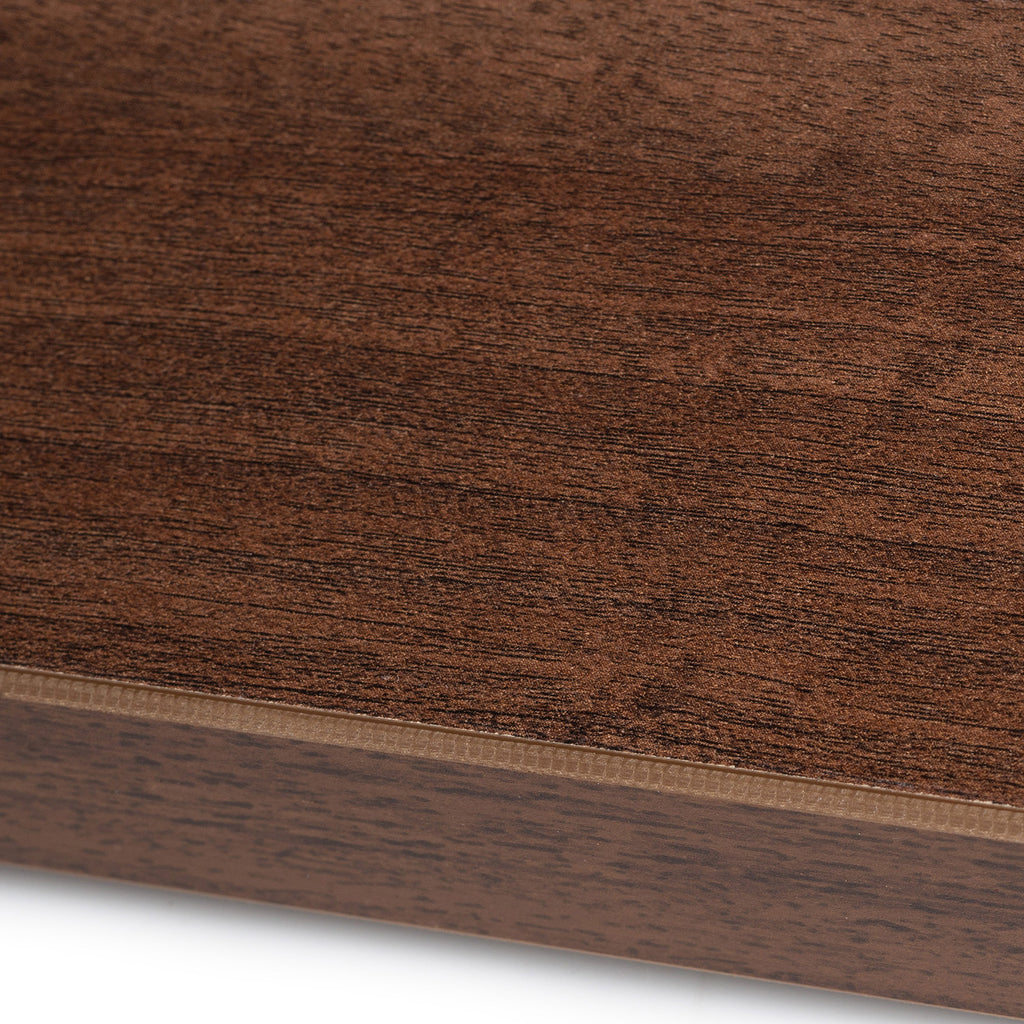 Walnut melamine sample - Premium