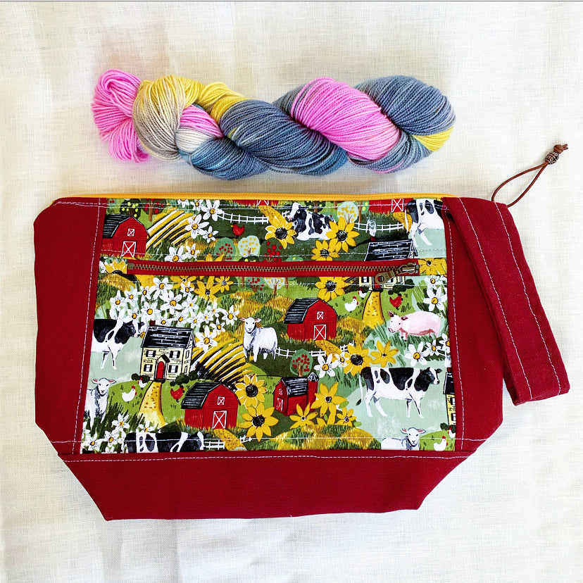 Farmyard Project Bag