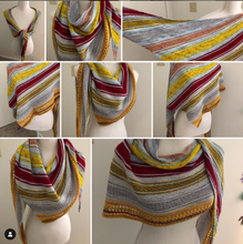 Load image into Gallery viewer, (Preorder) Game of Thrones Inspired Shawl Kit
