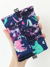 Load image into Gallery viewer, Space Dinos Scrappy Small Notions Pouch
