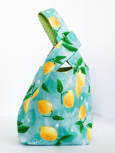 *Preorder* Lemon Japanese Knot Bag