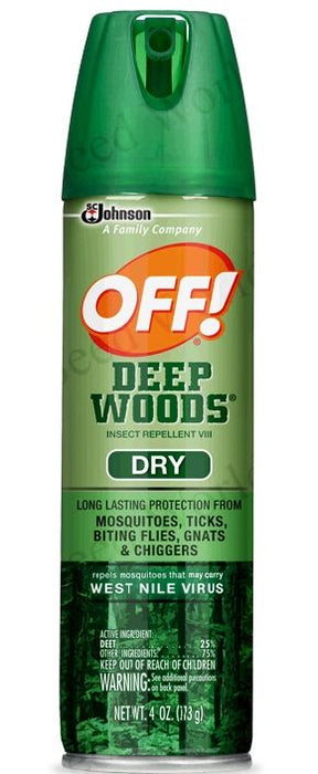 Off! Deep Woods Insect Repellent (Dry) - 4 oz.