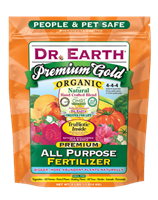 Dr Earth Premium Gold Organic All Purpose Fertilizer - 4 lbs