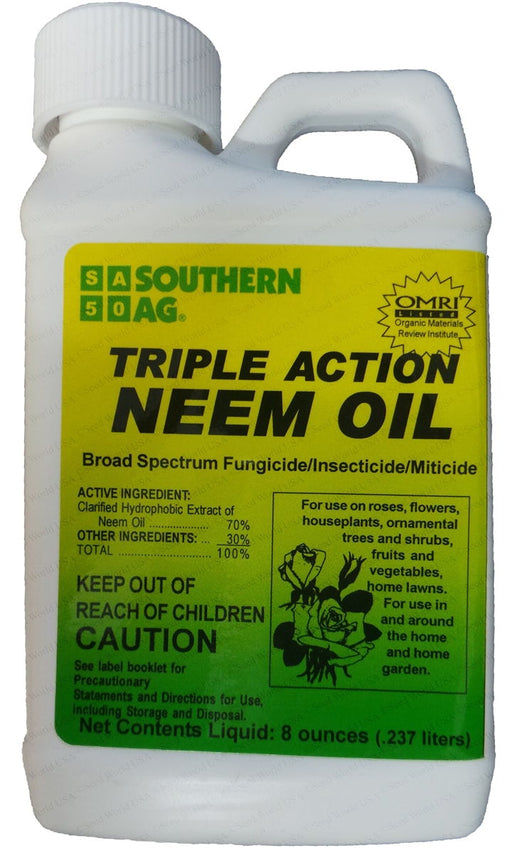 Triple Action Neem Oil - 8 oz.