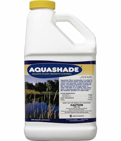 Aquashade Aquatic Herbicide Lake Dye - 1 Gallon