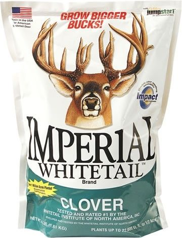 Whitetail Institute Imperial Whitetail Clover Seed - 1/4 Lb.