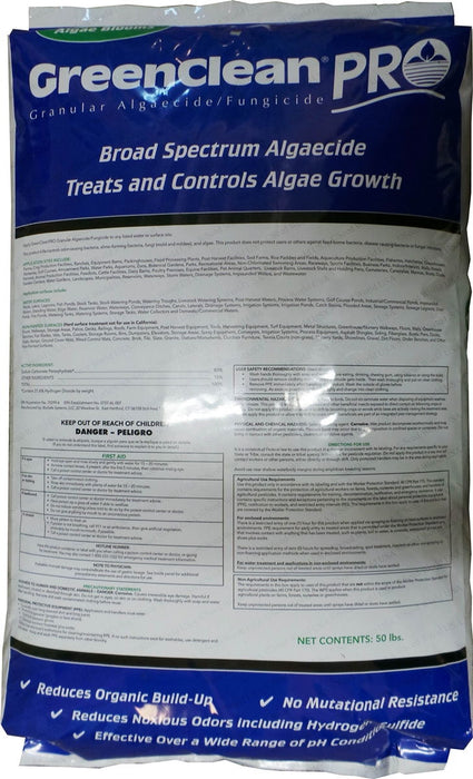 Green Clean Pro Pond Algaecide - 50 lbs.