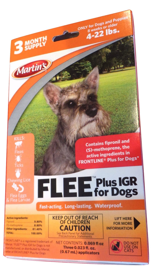 Flee Plus IGR for Dogs (4-22 Lbs.)