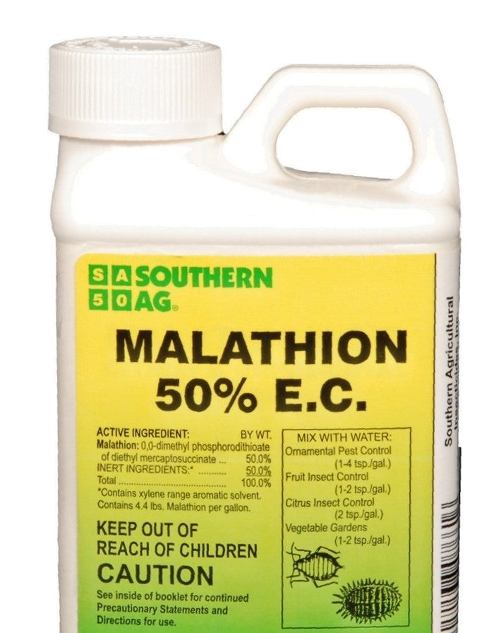 Malathion 50% E.C. Insecticide - 1 Gallon