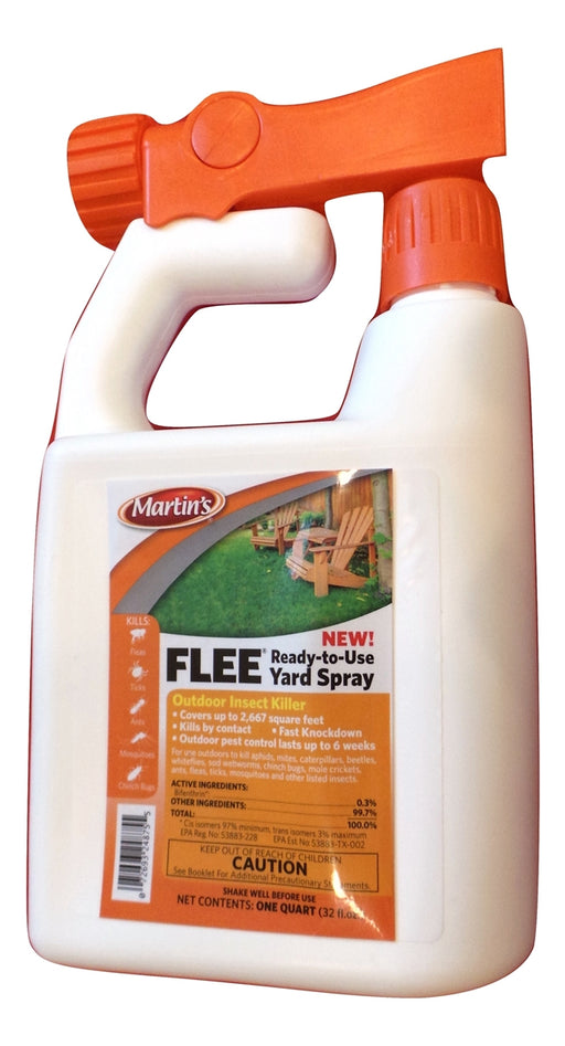 Martin's Flee Yard Spray - 1 Quart