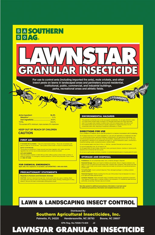 Lawnstar Bifenthrin Insecticide - 25 Lbs.
