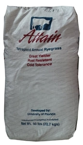 Attain Tetraploid Annual Ryegrass Seed - 10 Lbs.