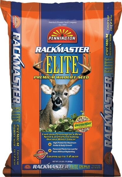 Rackmaster Elite Deer Food Plot Seed Mix - 25 Lbs.