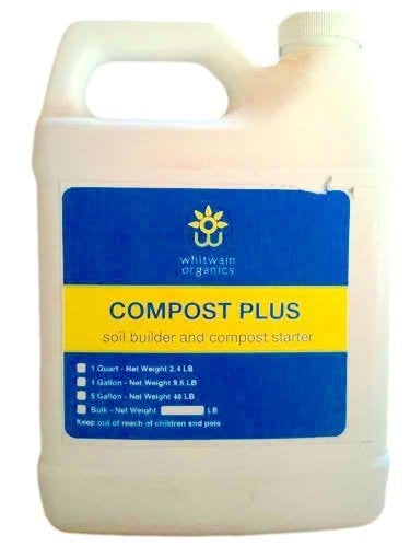 Compost Plus Soil Builder & Fertilizer - 1 Qt.