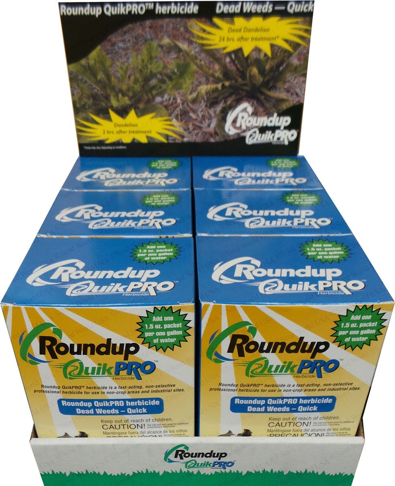 Roundup QuikPro Herbicide - 30 Packets