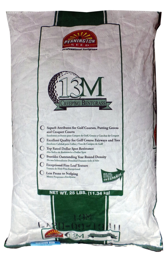 13M Creeping Bentgrass Seed - 25 Lbs.