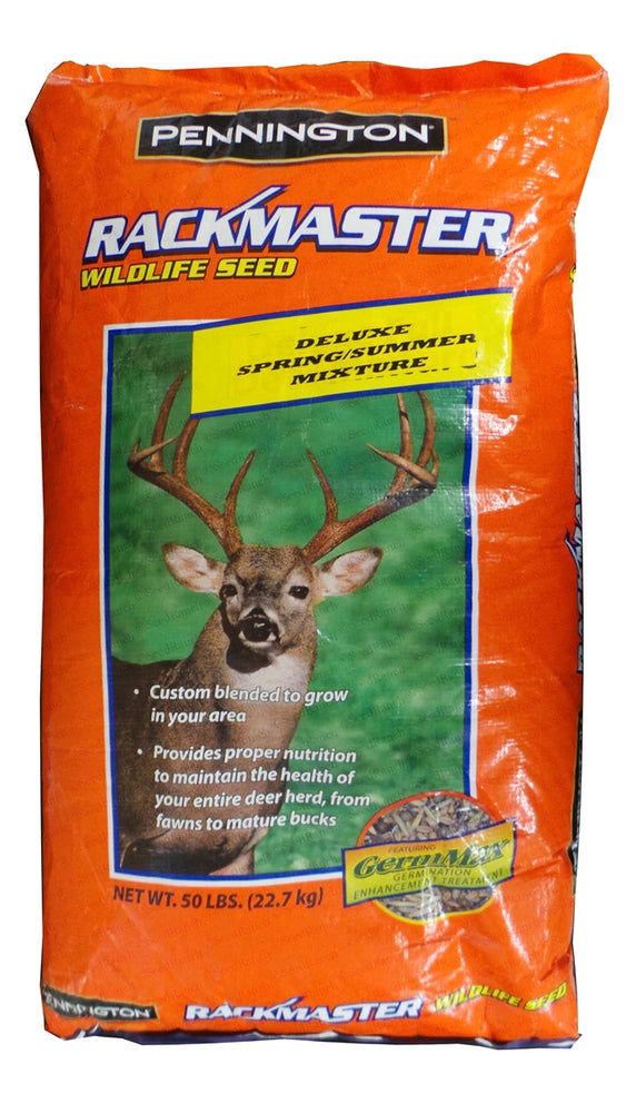 Rackmaster Spring/Summer Food Plot Seed Mix - 50 Lbs.