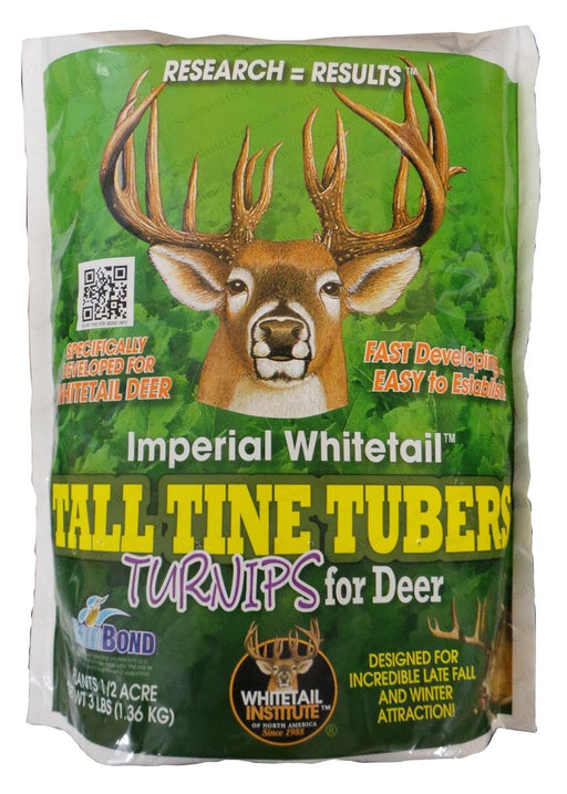 Imperial Whitetail Tall Tine Tubers Turnip Seed - 3 Lbs.