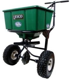 Lesco Push Spreader - 50 Lbs #092807