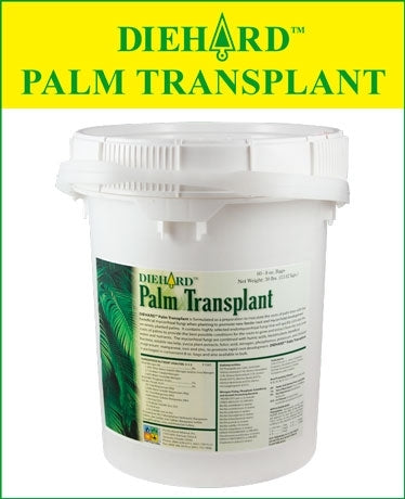 Diehard Palm Transplant Fertilizer - 100 x 8 Oz. Bags
