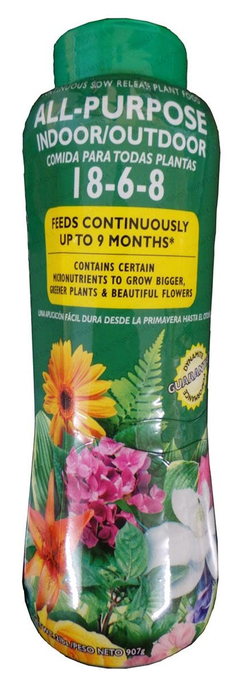 Dynamite All-Purpose Indoor/Outdoor Plant Food 18-6-8 - 1 lb.
