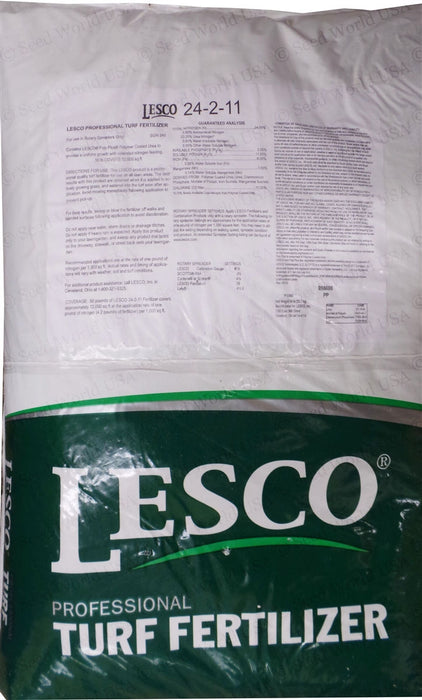Lesco 24-2-11 St. Augustine Lawn Fertilizer - 50 Lbs.