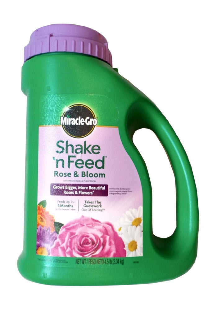 Miracle Gro Shake N Feed Rose and Bloom - 4.5 Lbs.