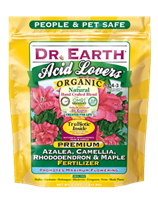 Dr Earth Acid Lovers Organic Premium Azalea, Camellia, Rhododendron & Maple Fertilizer - 4 lbs