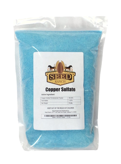 Copper Sulfate Powder Pentahydrate - 5 Lbs.