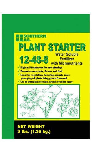 Southern Ag 12-48-8 Plant Starter Fertilizer - 25 Lbs.