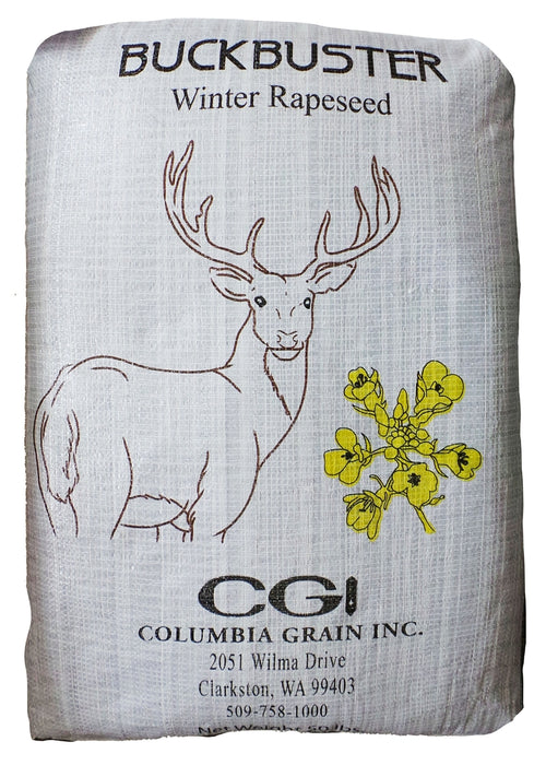 SeedRanch Buckbuster Rape Seed - 50 Lbs.