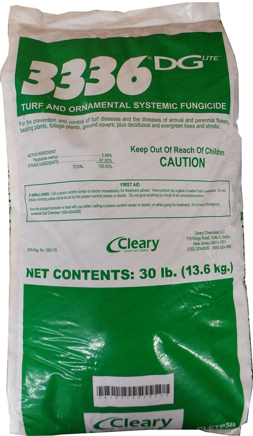 Cleary 3336 DG Lite Granular Fungicide - 30 Lbs.