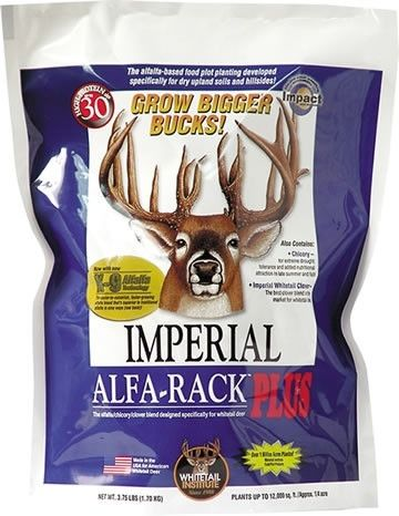 Imperial Whitetail Alfa-Rack Plus Seed - 16.5 Lbs.