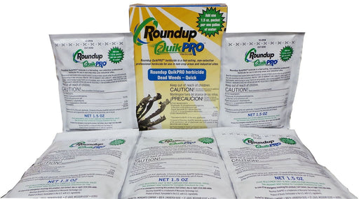 Roundup Quikpro Herbicide - 5 Packets