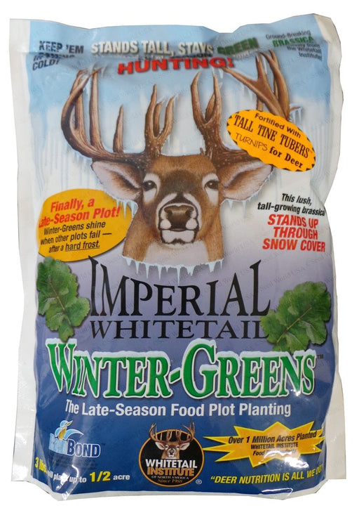 Imperial Whitetail Winter-Greens - 3 Lbs. (1/2 Acre Coverage)