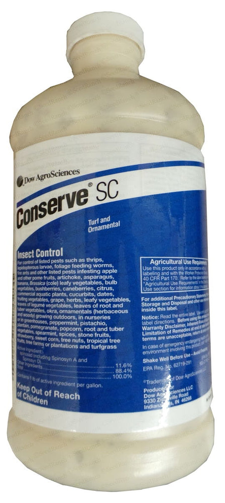 Conserve SC Insecticide (Spinosad) - 1 Quart