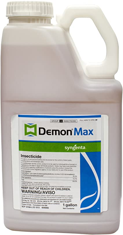 Demon Max Insecticide Cypermethrin - 1 Gal