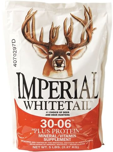 "Imperial Whitetail ""Plus Protein"" 30-06 Protein Mineral/Vitamin Supplement 20 Lbs"