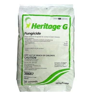 Heritage G Granular Fungicide (Azoxystrobin) - 30 Lbs.