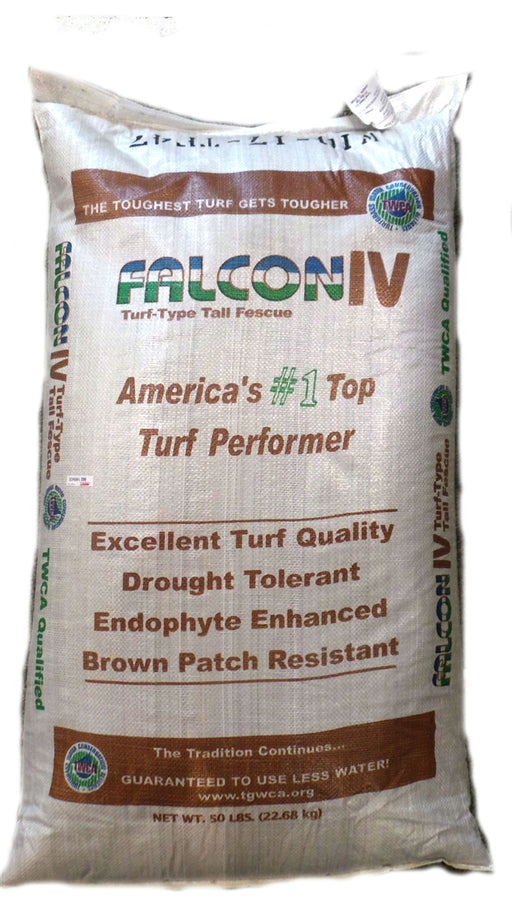 Falcon IV Turf Type Tall Fescue Grass Seeds - 25 lbs.