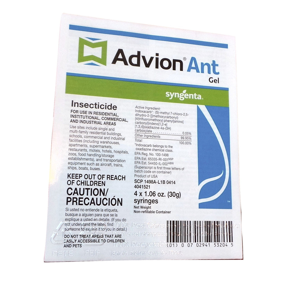 Advion Ant Gel - 4 x 1.06 Oz. Syringes