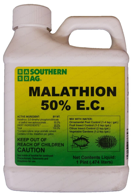 "Malathion 50% E.C. Insecticide ""Mosquito Control"" - 1 Pint"