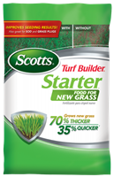Scotts Turf Builder Starter Food for New Grass Fertilizer - 3.27 lbs.
