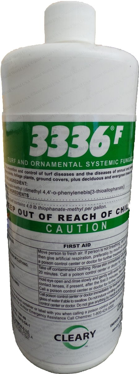 Cleary 3336F Systemic Liquid Fungicide - 1 Quart