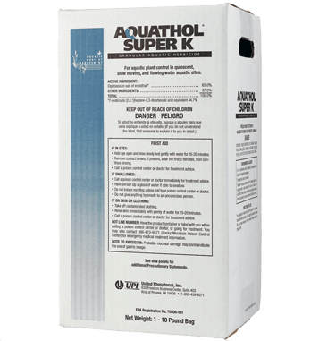 Aquathol Super K - 40 Lbs.
