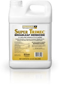 Super Trimec Broadleaf Herbicide - 2.5 Gallons